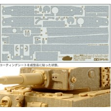 Zimmerit Coating Sheet for 1/48 Scale Tiger (Mid-Late Production)