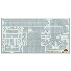 1/35 Panther Ausf G early Zimmerit Sticker Sheet