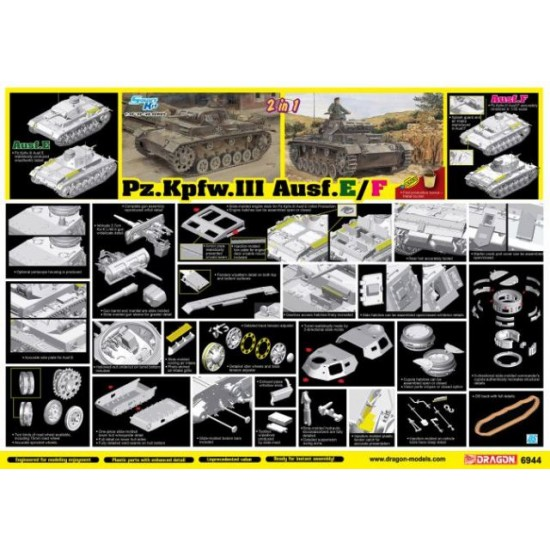 Panzer KPFW III AUSF E/F Smart Kit