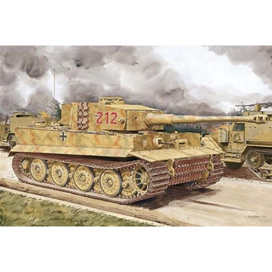 Tiger 1 Late Production with zimmerit
