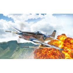 North American F-51D Mustang Korean War 1452 - Scale 1 : 72