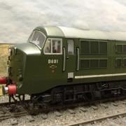 O Gauge Model rail