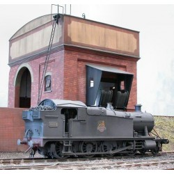 Ex Malcolm Mitchell GWR 42/52/72XX Class 2-8-0T O Gauge loco kit