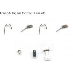 O Gauge GWR Autogear 517, 20121 class locos etc