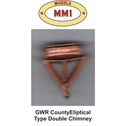 GWR County Eliptical Double Chimney