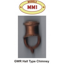 GWR Hall Single Chimney