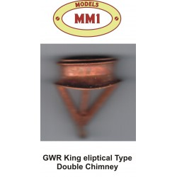 GWR King Eliptical Double Chimney