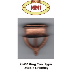 GWR King Oval Double Chimney
