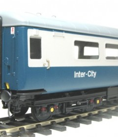 O Gauge Model rail Coach kits