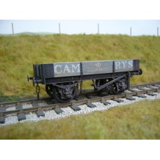 Ex Just Like The Real Thing Cambrian or GWR 10 ton 2 plank O gauge wagon kit
