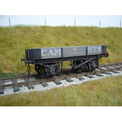 Cambrian or GWR 10 ton 2 plank O gauge wagon kit