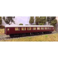 "BR Mark Two ""SO"" B type (Second class Open) Coach kit"