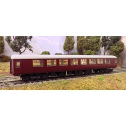 """BR Mark Two """"SO"""" B type (Second class Open) Coach kit"""