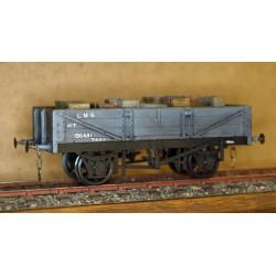 NSR 10 ton 3 plank O gauge wagon kit