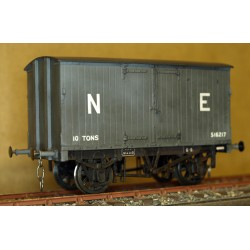 Great Central Box Van O gauge kit