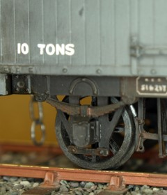 O Gauge Model rail Wagons and Vans