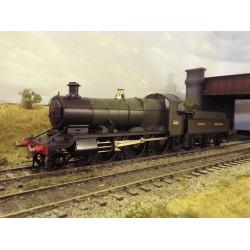 Ex Malcolm Mitchell GWR 43XX Class (Mogul) O Gauge loco kit