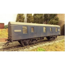 "Ex Just Like The Real Thing BR Mark One ""CCT"" (Covered Carriage truck) Coach/Van kit"