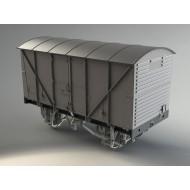 BR 12 Ton Banana Van (type 2) O gauge Van kit