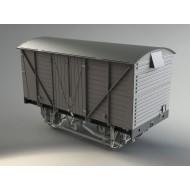 BR 12 Ton Fully Planked type 2 O gauge Van kit