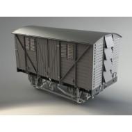 BR 12 Ton Meat van O gauge Van kit