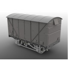 Ex Just Like The Real Thing BR 12 Ton Fruit Van O gauge Van kit