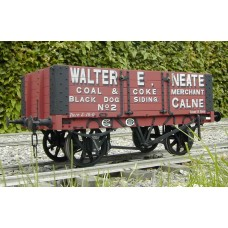 Ex Just Like The Real Thing Chas rbts 12 ton O gauge wagon kit