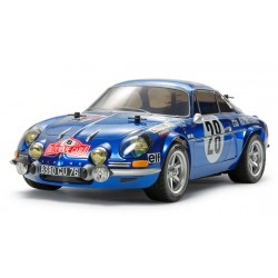 Tamiya Renault Alpine A110 Monte-Carlo '71 (M-06 Chassis)