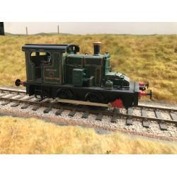 O Gauge GWR Fowler 0-4-0 no 1