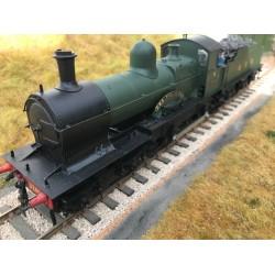 O Gauge GWR Dukedog 3265 kit buit loco