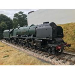 O Gauge LMS Princess Coronation Class loco