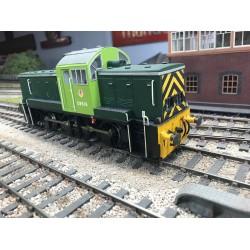 O Gauge BR Class 14 teddy bear loco