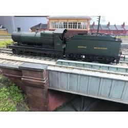 O Gauge Kit Built GWR 2-6-0 Aberdare Loco
