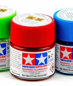 Tamiya Color Acrylic Paint Mini (Gloss)