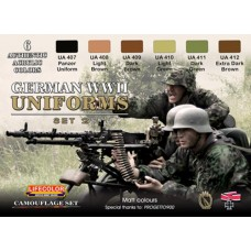 LifeColor German WWII Uniforms Set 2 (22ml x 6)