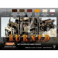 LifeColor Burned set (22ml x 6)