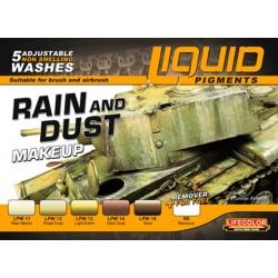 Lifecolor Liquid Pigments Rain & Dust set
