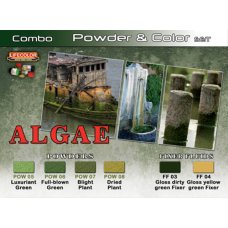 LifeColor Algae Powder & Colour Set (22ml x 6)
