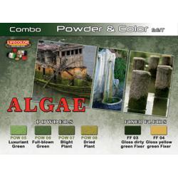 LifeColor Algae Powder & Colour Set (22ml x 6)