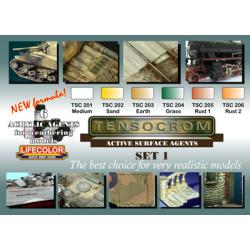 LifeColor Tensocrom Set 1 (22ml x 6)